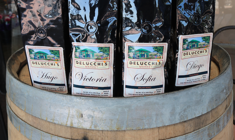 Try Our New Varieties of Delucchi's Market Coffee