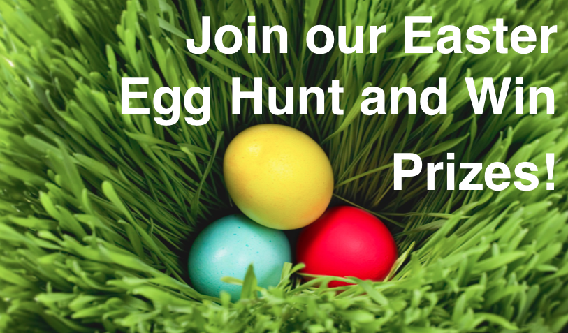 Join Our Easter Egg Hunt & Win Prizes!