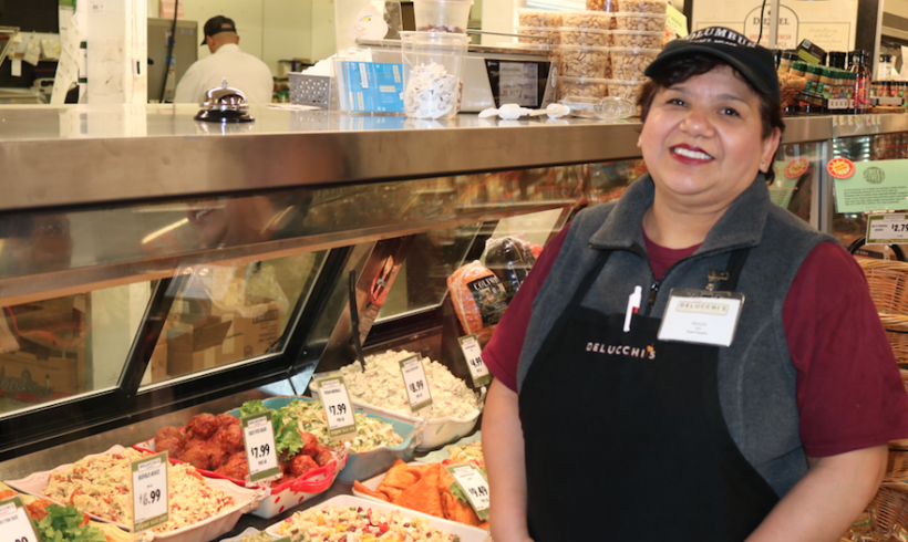 Introducing our deli clerk, Monica!