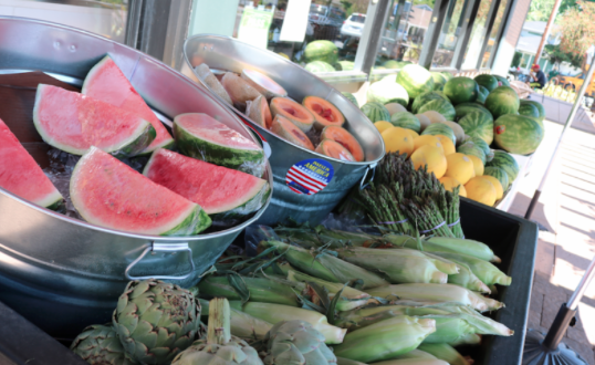 NEW Outdoor Produce Stand!