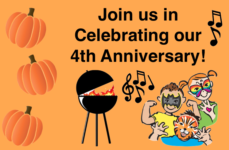 Join us in Celebrating our 4th Anniversary!