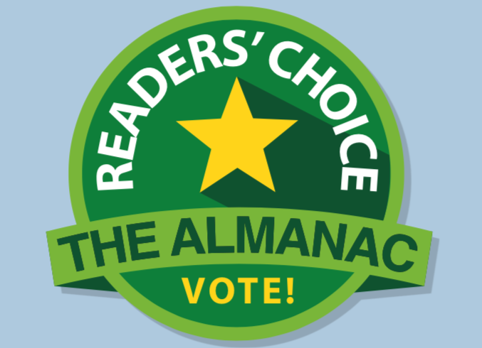 Vote for us in the 2019 Almanac Reader's Choice Awards!
