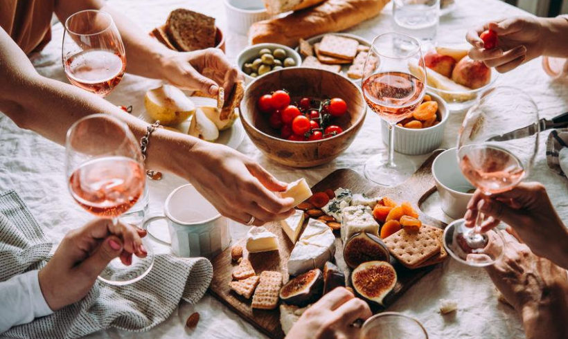 Rosé Wine & Cheese Perfect Pairings!